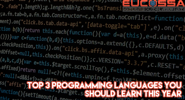 feat8 - Top 3 programming languages you should learn this year
